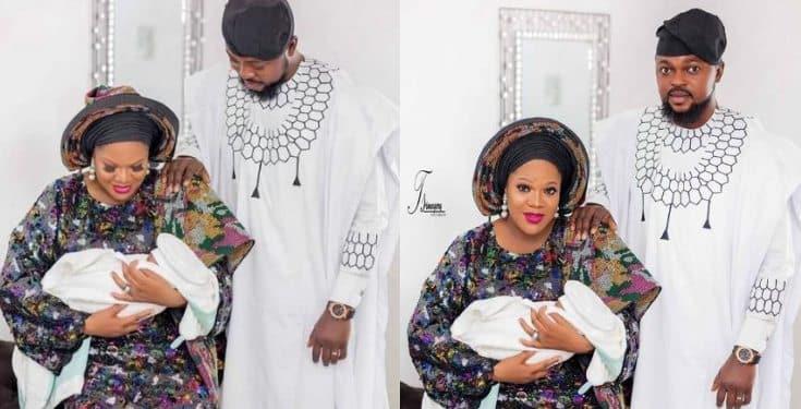 Actress Toyin Abraham unveils new family portraits (photos)