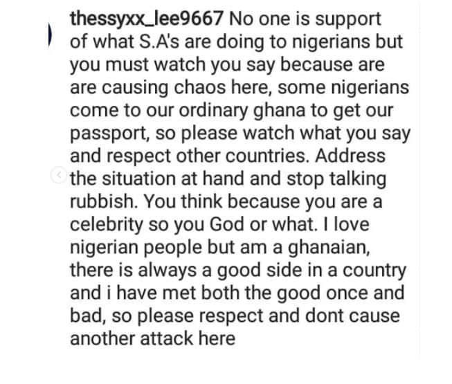 Actress Uche Ogbodo slammed for describing Ghana as 'ordinary'