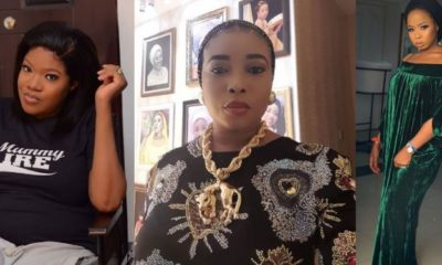 Allafin of Oyo's wife reacts to Lizzy Anjorin and Toyin Abraham's beef