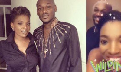 Annie Idibia celebrates his husband 2face on his birthday