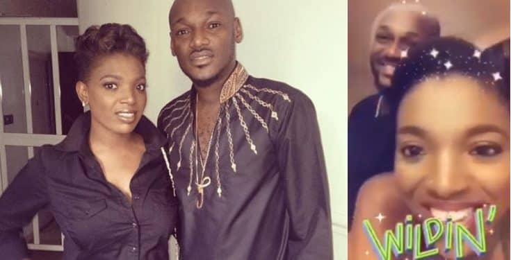 Annie Idibia celebrates his husband 2face on his birthday