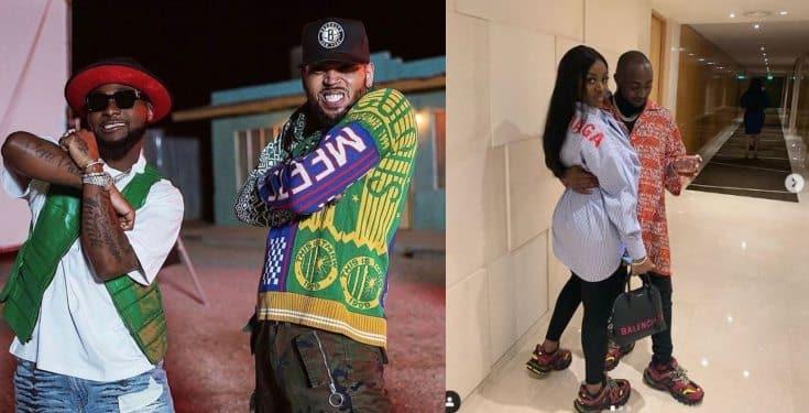 #Assurance2020: Chris Brown asks to be on Davido's groomsmen train