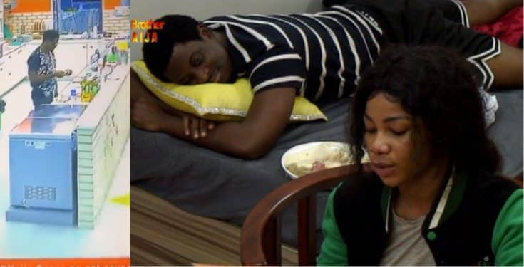 BBNaija: 'I will make sure you get third strike' – Seyi tells Tacha (Video)