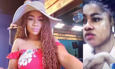 BBNaija 2019: Tacha's burnt face and Knuckles sets Internet Agog (video)