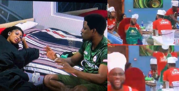 BBNaija 2019: What happened after Tacha showed Seyi her chest (Video)