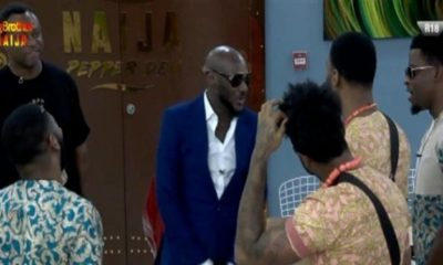 BBNaija: 2face Idibia, Larry Gaga pay housemates surprise visit (video)