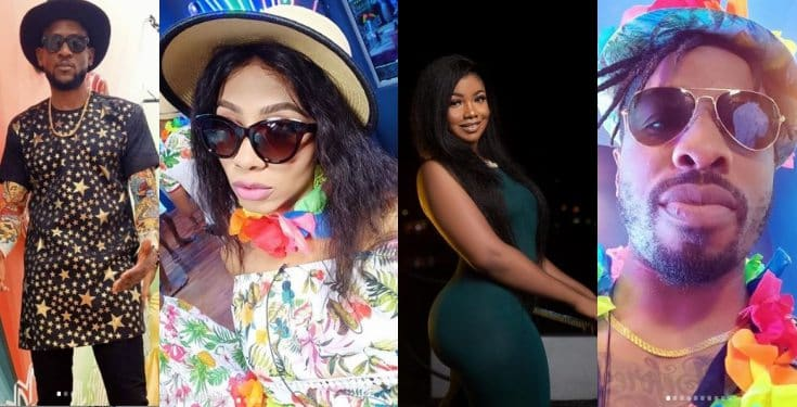 BBNaija: Big Brother cancels strikes issued to Tacha, Mercy, Ike, Omashola (video)