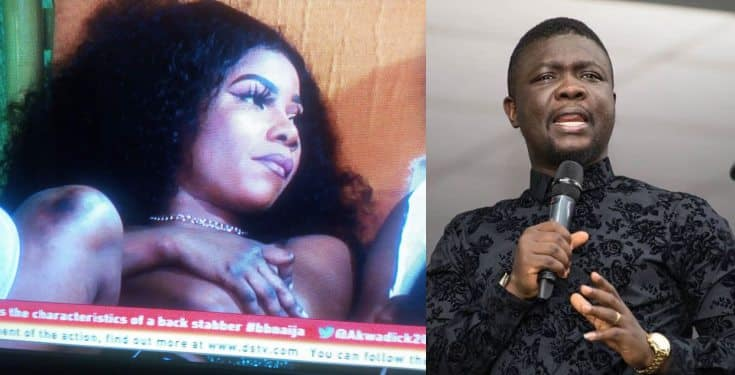 BBNaija: Comedian Seyi Law apologises after mocking Tacha's skin tone (video)
