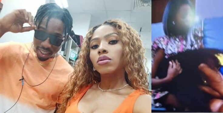 BBNaija: Mercy breaks down in tears following Ike's eviction (Video)