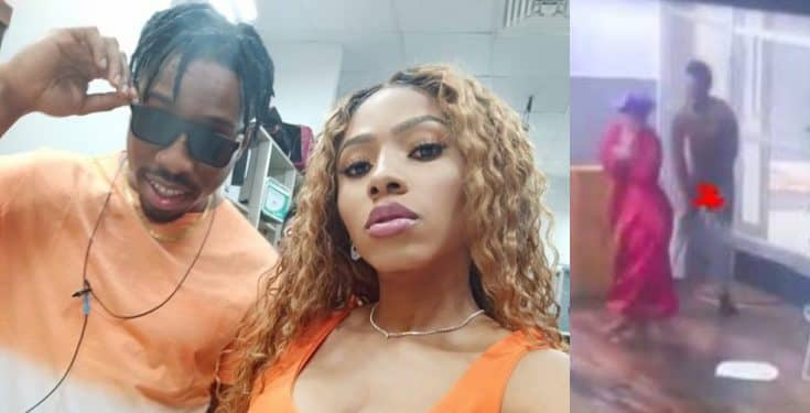 BBNaija: Mercy pulls down Ike's shorts, exposes his private part (Video)
