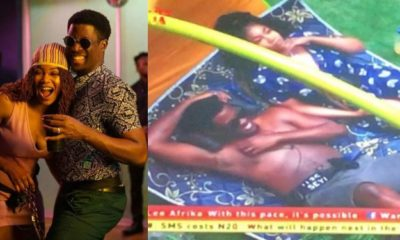 BBNaija: Seyi and Tacha shares an intimate moment in the garden (video)