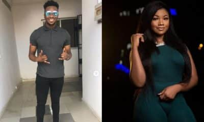 BBNaija: Tacha's boyfriend reacts as Sir Dee says meeting her is fire