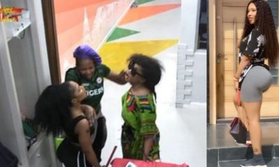 BBNaija: Tacha only bathes once during her period - Mercy (video)