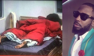 BBNaija: Tunde Ednut mocks Tacha's dirty feet after her disqualification