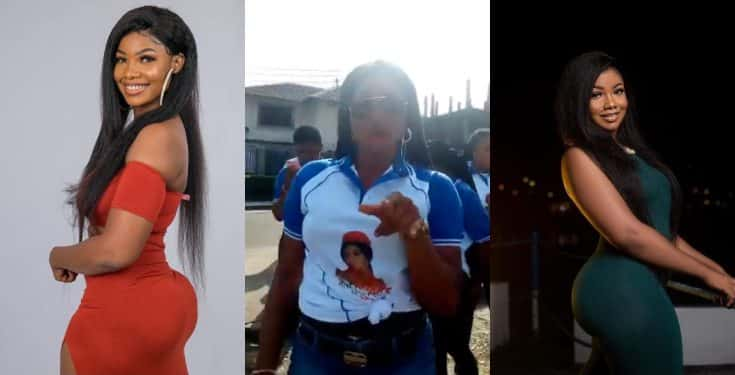 BBNaija: Twitter users blast Lady for organising a rally for Tacha (video)