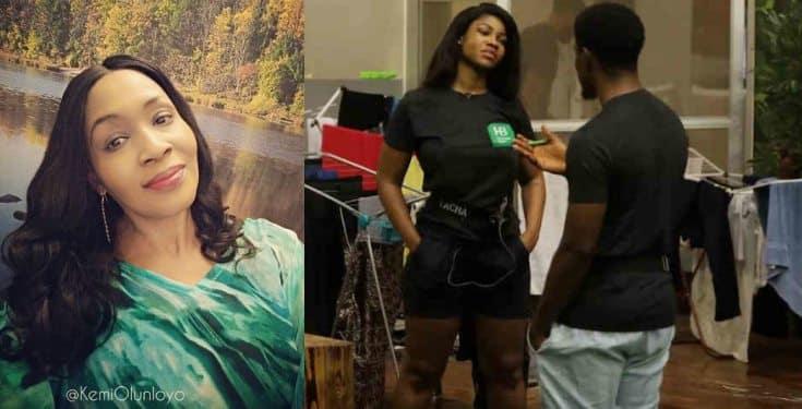 BBNaija: 'Who's your father' - Kemi Olunloyo slams Tacha for insulting Seyi