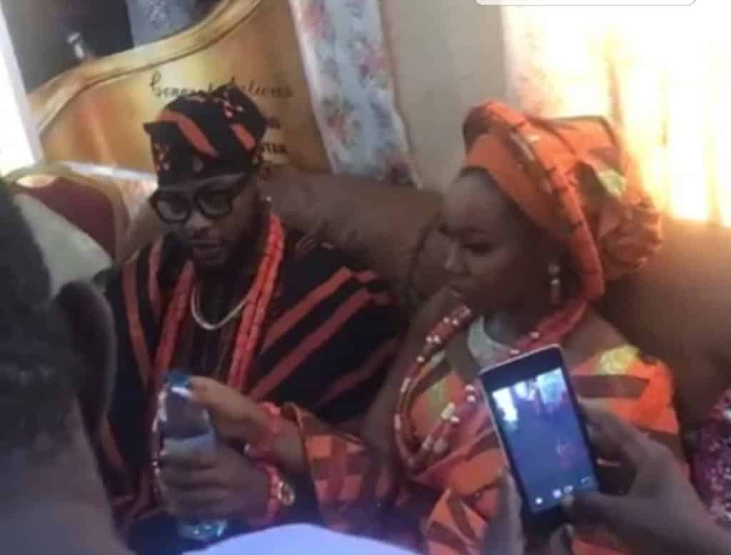 First photos from Bam Bam and Teddy A's traditional wedding