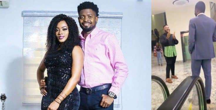 Basketmouth reacts to the birthday surprise he got from his wife (video)