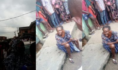 Bird allegedly turns into an old woman in Lagos (video)