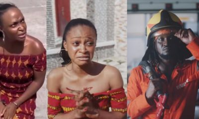 Blessing Okoro reacts as Paul Okoye's new song, Audio Money, features her fake mansion scandal