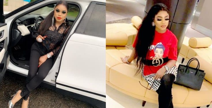 Bobrisky reacts to protest staged by youths in Abuja