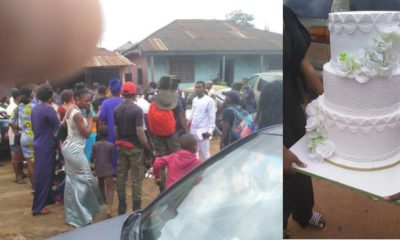 Bride collapses as jilted lady scatters her wedding in Edo (photos)