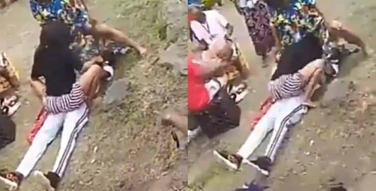 Bride's sisters twerk on groom to test if he can be faithful to their sister by not getting an erection (video)