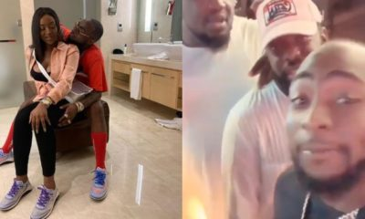 Davido advises Timaya, Soso Soberekon, and Perruzi to go and marry (video)