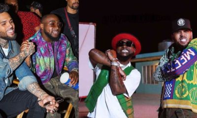 Davido and Chris Brown Set To Drop Another Song