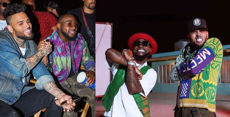Davido and Chris Brown Set To Drop Another Song
