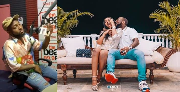 Davido speaks on expecting a child with his girlfriend, Chioma (video)
