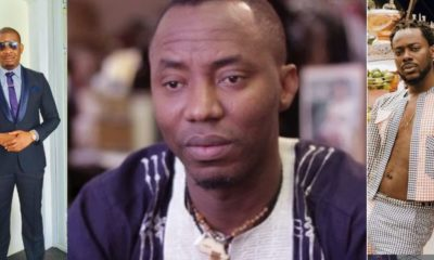 Don Jazzy, Adekunle Gold, Omojuwa, others react to the new charges against Omoyele Sowore
