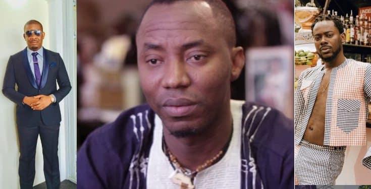 Don Jazzy, Adekunle Gold, Omojuwa, others react to the new charges against Omoyele Sowore