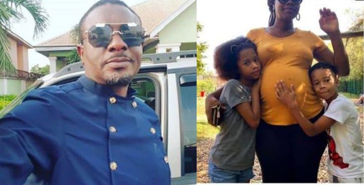 Emeka Ike is expecting another child with his new South African lover
