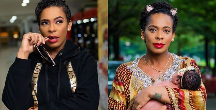 'Flesh of my Flesh' - Tboss says as she finally unveils her daughter