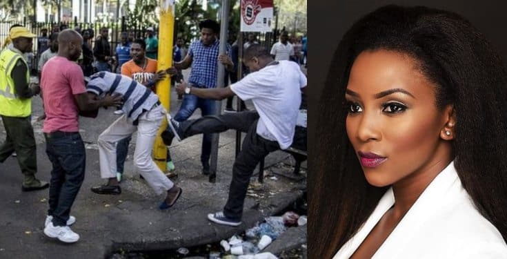 Genevieve Nnaji reacts to xenophobic attacks in South Africa