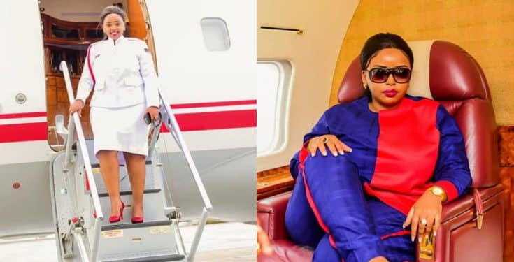 'I trust that if Jesus was preaching these days, he will be using a private jet' - Rev. Lucy Natasha reveals why she bought a private jet