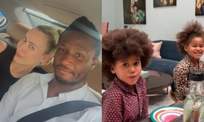 I want daddy to marry you right now – Mikel Obi's daughter tells her mum (Video)