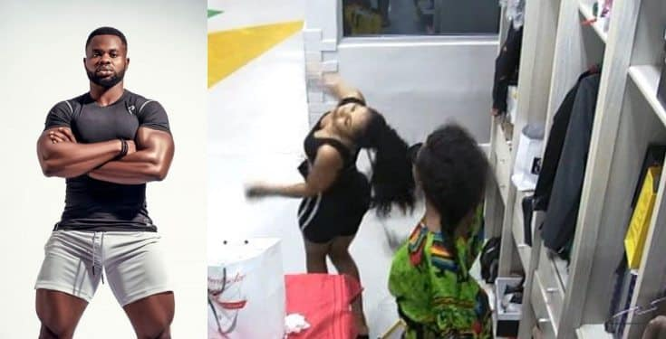 Kemen shares a photo of BBNaija rule book after Mercy and Tacha's fight