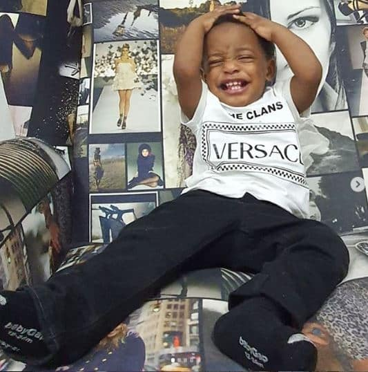 Linda Ikeji shares lovely photos to celebrate his son's birthday