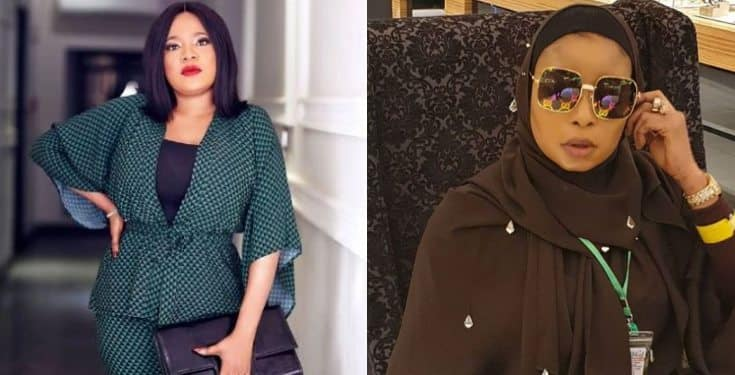 Lizzy Anjorin mocks Toyin Abraham after being served legal papers (video)