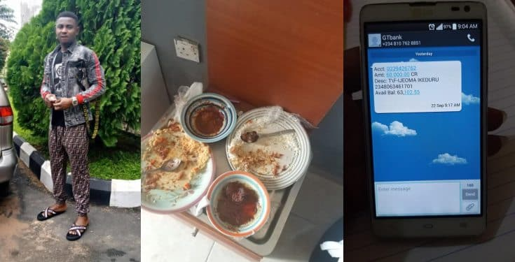Man books two hotel rooms, eats free food and pays with fake alert