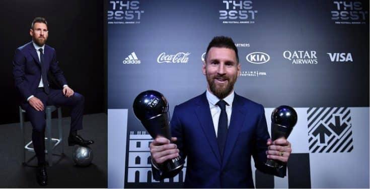 Messi named Best 2019 FIFA Men's Player ahead of Van Dijk and Ronald