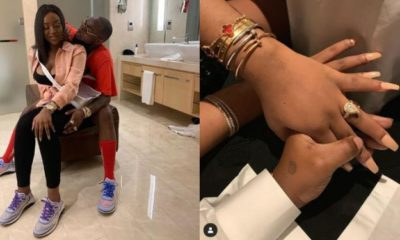 Nigerian Celebrities React As Davido Proposes To Chioma