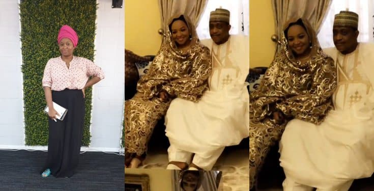 Nigerian Lady elated as her mother marries for the third time (video)