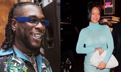 Nigerian celebrities reacts as Rihanna begs for Burna Boy's song to be played