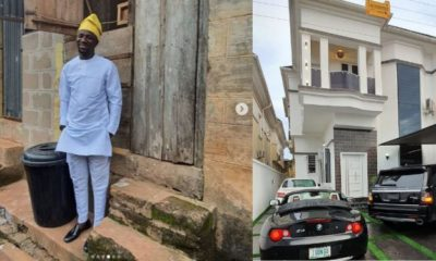 Nigerian comedian, Ogusbaba buys his first house in Lekki