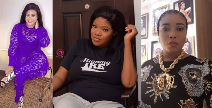 Nkechi Blessing Sunday reacts to report she is snitching on her bestie, Toyin Abraham