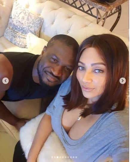 Peter Okoye celebrates his wife Lola on her birthday