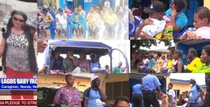 Police Uncover Lagos Baby Factory, Rescue 19 Pregnant Girls (Video)